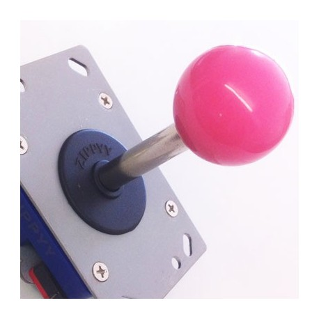 Joystick Zippy long shaft Pink Ball 8 directions