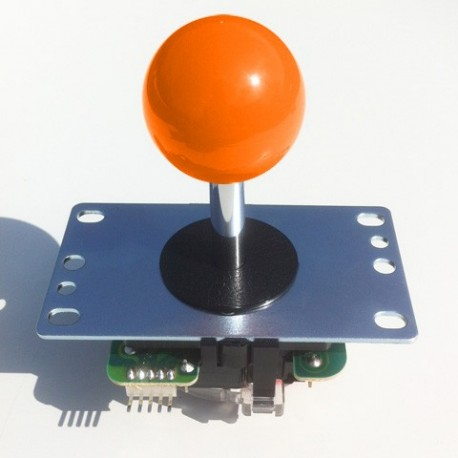 Joystick Sanwa JLF-TP-8YT Orange ball top