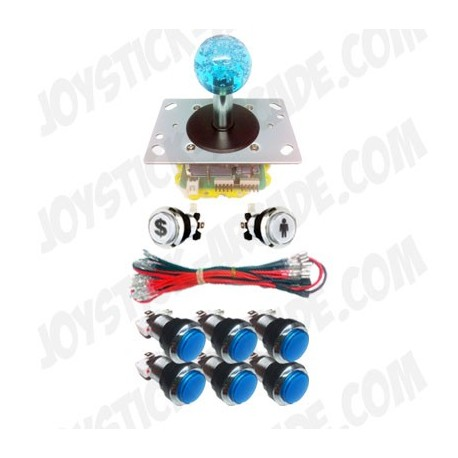 Pack Joystick Arcade Full Lux - 1 player