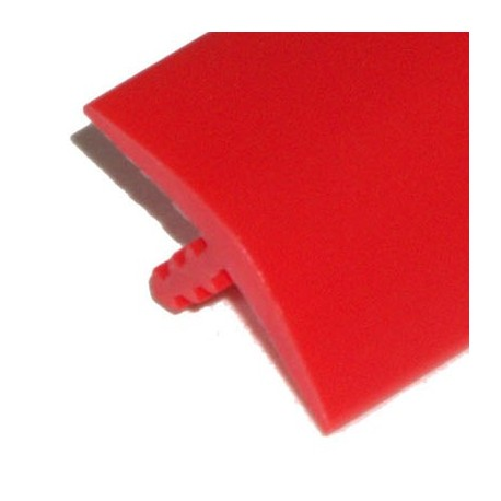 Red T-molding 16mm
