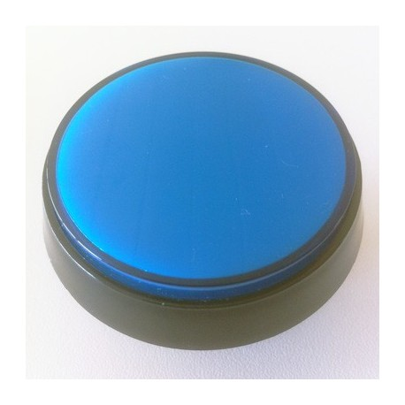 Botao luminoso 60mm Azul ideal para flipper ou maquina arcade