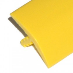 Yellow T-molding 16 mm