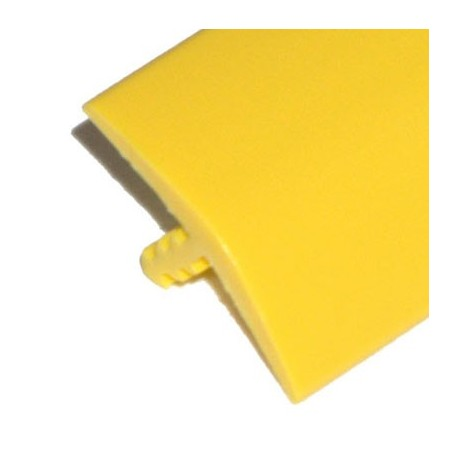 T-molding Jaune Mat 16 mm chant de protection