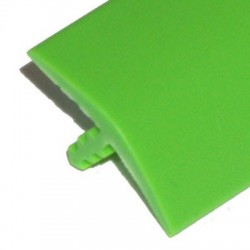 T-molding Vert Mat 16 mm chant de protection