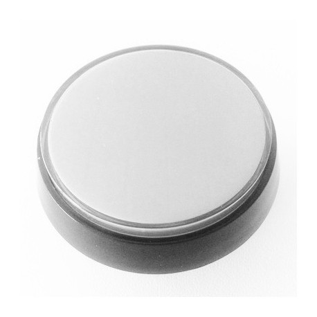 White Illuminated push-button 60mm for pinball or arcade cabinet