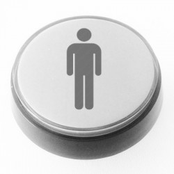 Player 1 White Illuminated push-button 60mm for arcade cabinet