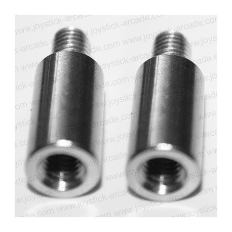 2x 20mm Shaft extender JA-ZSX for ZIPPYY or SEIMITSU joystick