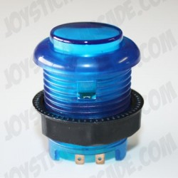 Short Illuminated push-button Blue for bartop or arcade cab