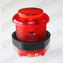 Short Illuminated push-button Red for bartop or arcade cab