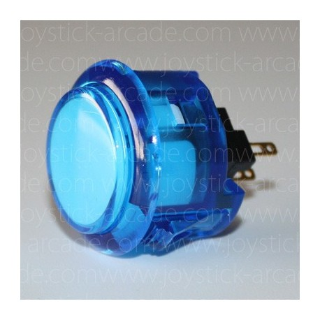 SANWA push button OBSC-30 Cristal blue