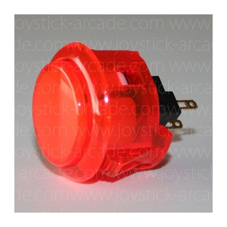 Bouton SANWA OBSC-30 Rouge cristal