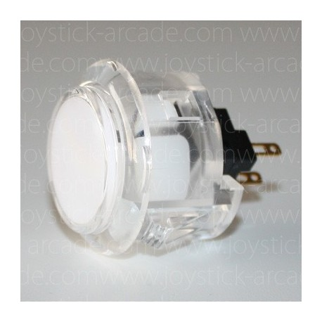 SANWA push button OBSC-30 Cristal White