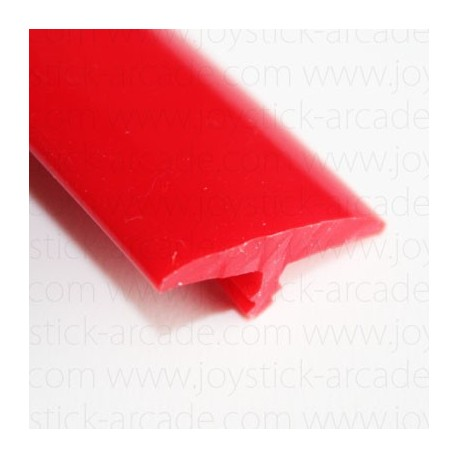 Red T-molding 18mm