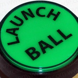 Pulsador Launch Ball 60mm Verde para pinball ou pincab