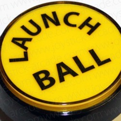 Yellow Push-button Launch Ball 60mm for pinball