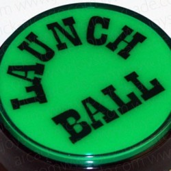 Bouton Launch Ball Vert 60mm pour flipper ou pincab