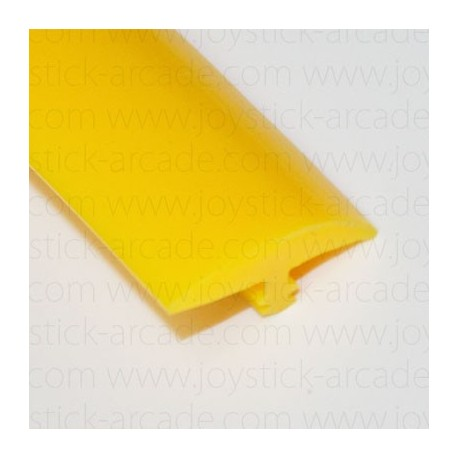 Yellow T-molding 18mm