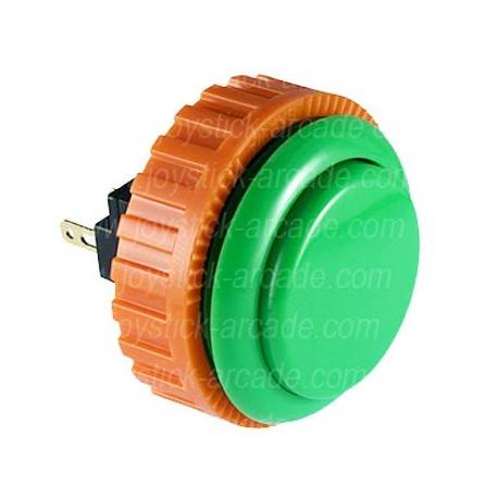 SANWA OBSN-30 screw Green push-button