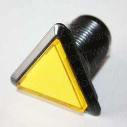 triangular Illuminated push-button Yellow