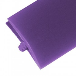 T-molding Violet Mat 16 mm chant de protection