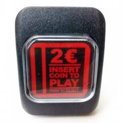 Illuminated Push Button 2 Euros