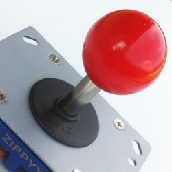 Joystick Zippy short shaft Ball top red 8 directions