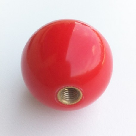 Ball top boule rouge