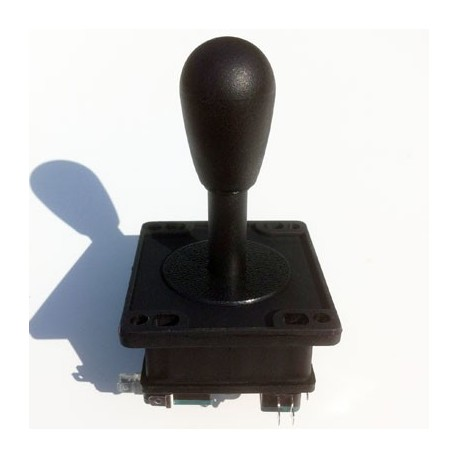 Joystick maneta bat top negro standard USA 8 vias