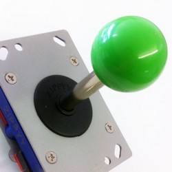 Joystick Zippy long boule vert  8 voies