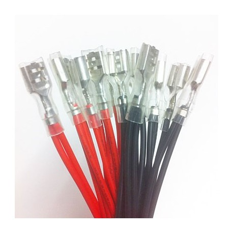 12V Cable wire for illuminated push buttons