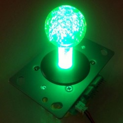 Illuminated joystick Green