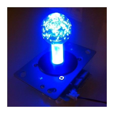 Illuminated joystick Blue