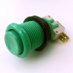 28mm Arcade push button - Green