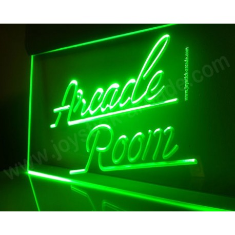 Arcade Room Illuminated sign neon retro style
