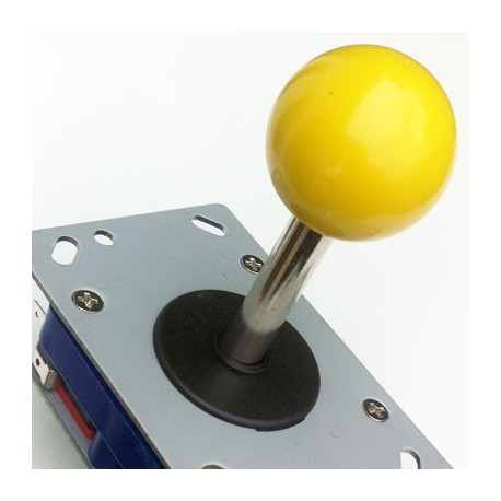 Joystick Zippy long boule Jaune 8 voies