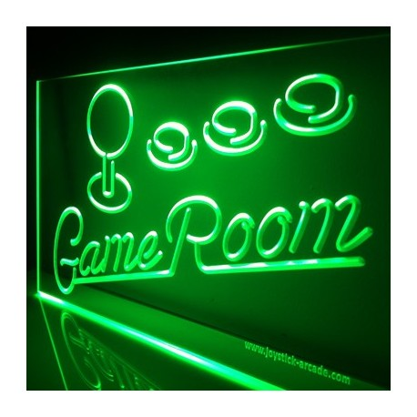 Game Room Illuminated sign neon retro style