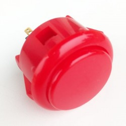 Push button SANWA OBSF-30 Red