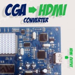 Conversor video CGA EGA para Hdmi