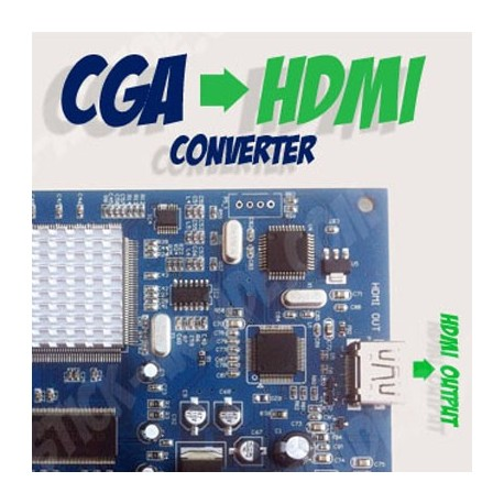 CGA to Hdmi converter board