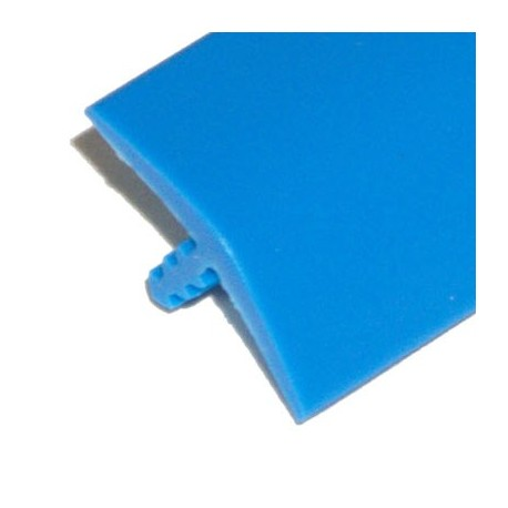 T-molding - Bleu clair 19mm - chant de protection