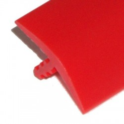 T-molding - Rouge 19mm - chant de protection