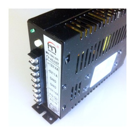 Power supply 16A 5V adjustable